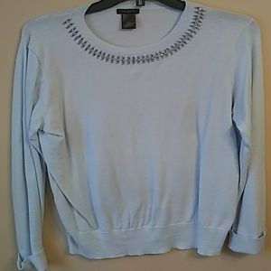 Ann taylor baby blue sweater. Never worn